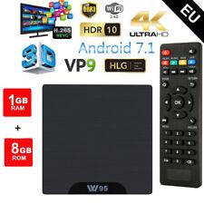 W95 TV BOX Passerelles multimédia Android 7.1 Quad Core 1GB+8GB 4K WIFI GPU FR