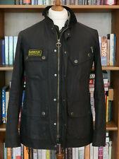 £229 rare Mens Barbour International Bracken black waxed jacket size M Medium 38