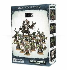START COLLECTING ORKS - GAMES WORKSHOP - WARHAMMER 40K ARMY - BNIB-
