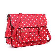 Valises et sacs de voyage vintage rouges en cuir