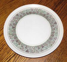 Earthtone Green Brown Lenox Ware Melmac Melamine Salad Dessert Plate Plastic