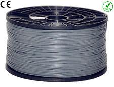 FILAMENT- FIL imprimante 3D PLA 1.75mm ARGENT 1Kg  CE-ROHS PLA175ARG