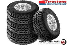 4 X Firestone Destination MT 35X12.50R18LT 123Q BW E All Terrain Mud Tires