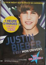 Justin Bieber C'Est Mon Univers - DVD - NEUF -