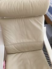 ikea poang leather seat cover