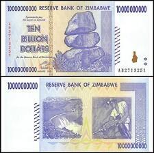 10 (Ten) Billion Dollars!!!! Real Money from Zimbabwe - Become a Billionaire!