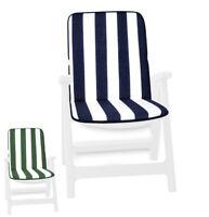Cuscino copri sedia giardino sdraio esterno seduta schienale UNIVERSALE cotone