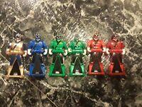 Power Rangers Super Megaforce 2016 SAMURAI Power Rangers 6 KEYS