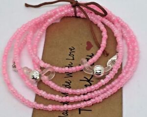 Pink Glasses chain Beaded Lanyard Cord Chain Strap For Spectacles Sunglasses