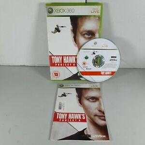 Tony Hawk's Project 8 Xbox 360 Skating Sport Video Game Manual PAL