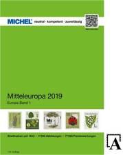 MICHEL Mitteleuropa 2019 EK 1 Katalog catalogue middle europe Europa Neu!