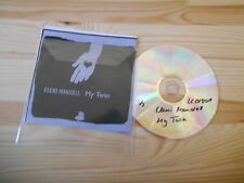 CD Indie Eleni Mandell - My Twin (1 Song) Promo V2 RECORDS
