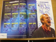 29/04/2000 Autographed Programme: Queens Park Rangers v West Bromwich Albion - H