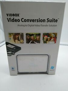 VIDBOX Video Conversion Suite, Mac And PC. Analog to Digital solution