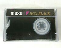 Maxell HGX-Black VHS C Pal Secam Video Cassette VCR Tape 284BA