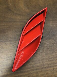 2012 Ferrari California Right Passenger Fender Grille Air Guide Scoop Trim OEM