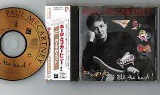 PAUL McCARTNEY All The Best JAPAN 24k GOLD CD TOCP-6117 w/OBI+INSERT Free S&H/PP