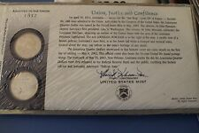 US MINT OFFICIAL 2002 LOUISIANA FIRST DAY COVER NEW IN PACKAGE