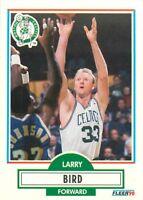 1990-91 FLEER NBA BASKETBALL CARD PICK SINGLE CARD YOUR CHOICE