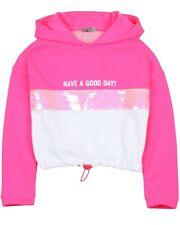 LOSAN Junior Girl's Hooded Terry Sweatshirt, Sizes 8-16