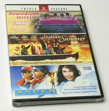 HEARTBREAK HOTEL INDIAN SUMMER ASPEN EXTREME Triple Feature DVD BRAND NEW SEALED
