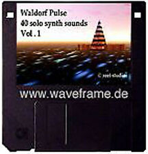 Sound-Set Waldorf Pulse Vol.1 Midisounds waveframe TOPsounds,Yamaha,Roland,Kawai