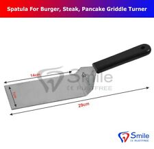 Professional spatula burger, steak, pancake griddle turner kitchen baking