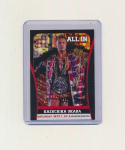 2018 Trading Card All In AEW Kazuchika Okada