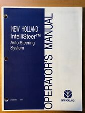 NEW HOLLAND Intellisteer Auto Steering System Operator's Manual  87428361 3/04