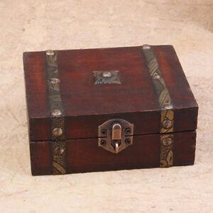 MyEMPORIUM- Vintage Style Jewelry Storage Wooden Box