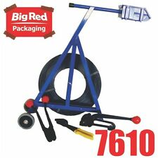 19mm Strapping Kit W/ Steel Strap/ Seals/ Cart/ Tensioner/ Sealer and Cutter