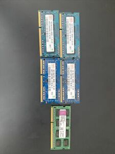 DDR3 Sodimm. Various Sizes/speeds.  6GB Total