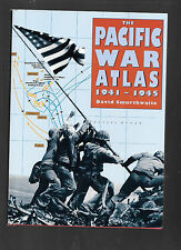 The Pacific War Atlas by David Smurthwaite (1995, Hardcover)