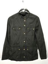 J.Crew Utility Jacket Zipper/Button-Up Girls Juniors Size XXS Dark Green