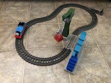 P114 TrackMaster Demolition at the Docks Cranky/Warehouse Set Thomas Train