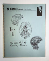 TR-ID: THE FINE ART OF READING MINDS BY AL MANN / Vintage Mentalism Magic Book