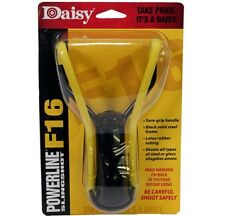 Daisy Outdoor 988116-442 Slingshot F16 Black w/Yellow Band