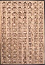 OAK PATHTAG GEOCOIN DISPLAY - HOLDS 96 TAGS - UNIQUE & MADE IN USA
