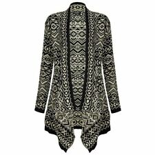 Hip Length Acrylic Aztec Jumpers & Cardigans for Women