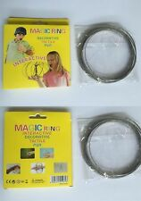 Magic Ring Interactive Flow Kinetic Spring Stainless Steel Intelligent Toy