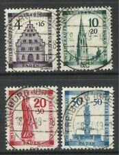 Sellos de Europa, usado, arquitectura