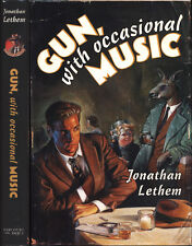 Gun, with Occasional Music by Jonathan Lethem HC 1st/1st First Book 1994