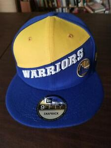 New Era Cap Golden State Warriors 9Fifty snapback blue & yellow hat NEW