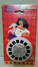 New 1996 Hunchback of Notre Dame Festival of Fools Tyco View Master 3 Reels No.2