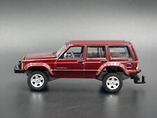1984-2001 JEEP CHEROKEE XJ SPORT 4 DOOR W/ HITCH 1:64 SCALE DIECAST MODEL CAR