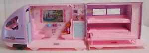 Vintage Mattel Barbie Reisezug Zug u. Zubehör von 2001 mit Sound Schlafwagen