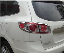 Auto Rear Light Lamp Cover Taillight Cover Trim Fit For Hyundai Santa Fe 2010-12