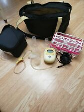 Medela-Freestyle Hands-Free Breast Pump & Power Supply & Accessories (Cleaned)