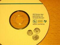 █ 300 Bücher über griechische und römische Münzen (antike Numismatik) auf DVD
