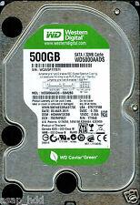 WESTERN DIGITAL SATA 500GB WD5000AADS-00M2B0  HGNNNT2CBB